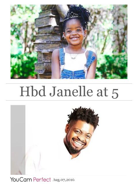 basketmouths daughter janelle
