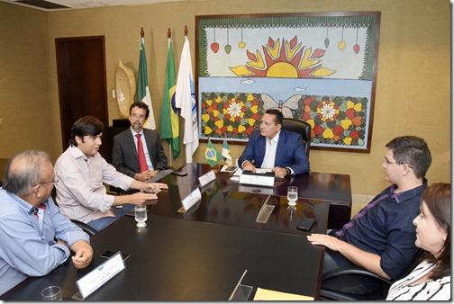 Reunião Odon Jr com Deputado Ezequiel