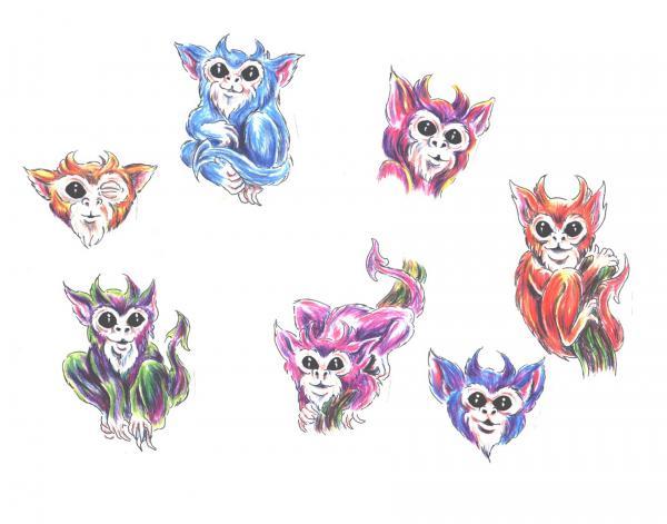 Design Of Horror Tattoo 14, Fantasy Tattoo Designs