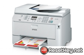 Reset Epson WorkForce WP-4520 printer Waste Ink Pads Counter