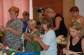 Warsztaty z bibułkarstwa w Buczu
