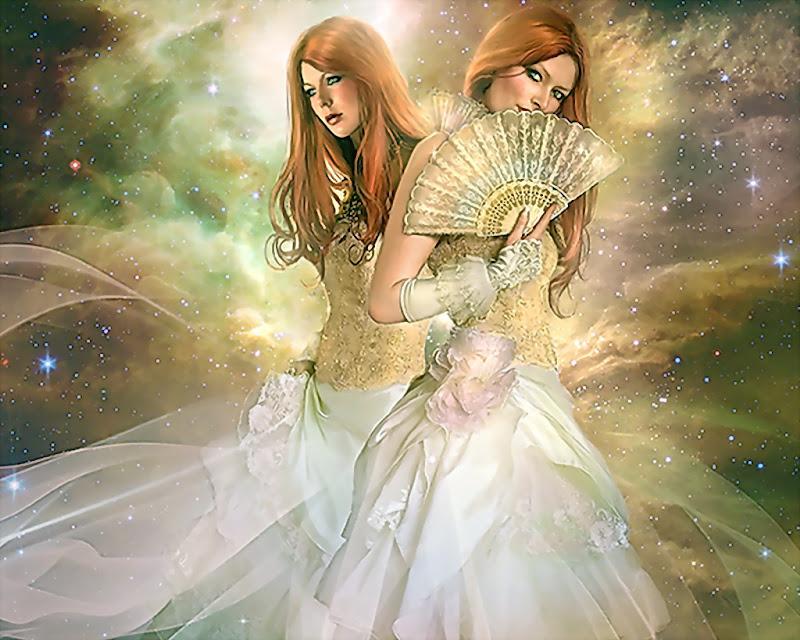 Young Goddess Of Nature, Goddesses