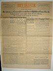 Het Parool 1 april 1945. Eerste nummer na de bevrijding.