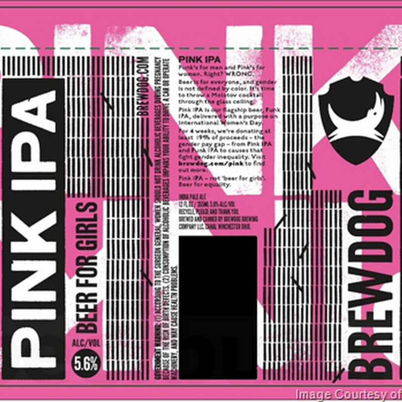 "BrewDog Adding Pink IPA ""Beer For Girls"" Cans / Juggernaut & Albino Squid Assassin"