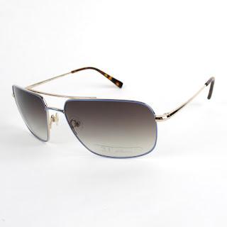 Derek Lam Titanium Baby Blue Glasses