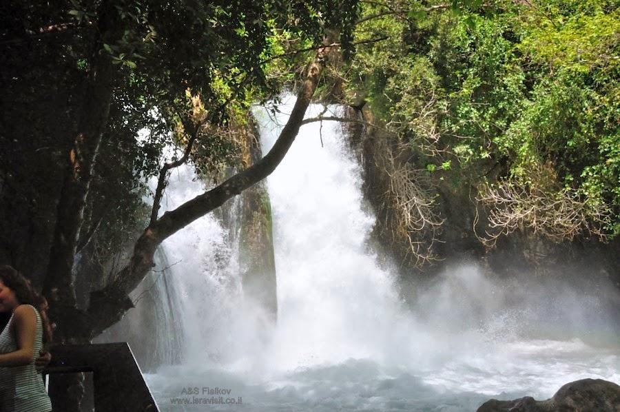Водопад в Баниас. Экскурсия на Голанские высоты. Гид Светлана Фиалкова.