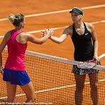 Karolina Pliskova & Sabine Lisicki - Mutua Madrid Open 2014 - DSC_7502.jpg