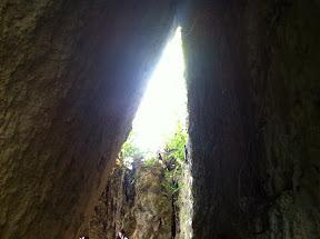 三角岩の拝所