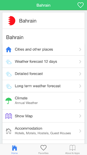 Bahrain weather forecast