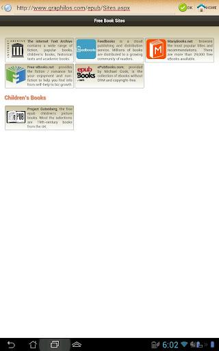 ePub Reader for Android 2.1.2 screenshots 13
