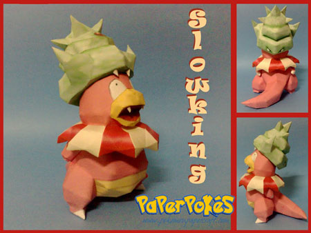 Pokemon Slowking Papercraft