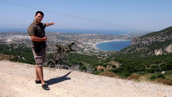 widok na zatokę kefalos Kos