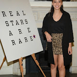 WWW.ENTSIMAGES.COM -    Leah Weller    arriving at    Real Stars Are Rare - launch party at Somerset House, Strand, London October 8th 2014Paul Weller launch  his 2014 menswear collection at 101 London, a space within Somerset House.                                                     Photo Mobis Photos/OIC 0203 174 1069