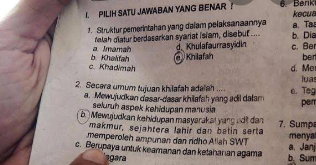 Jihad dan Khilafah Dihapus, Islam Fobia Meluas?