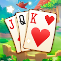 Solitaire card free icon