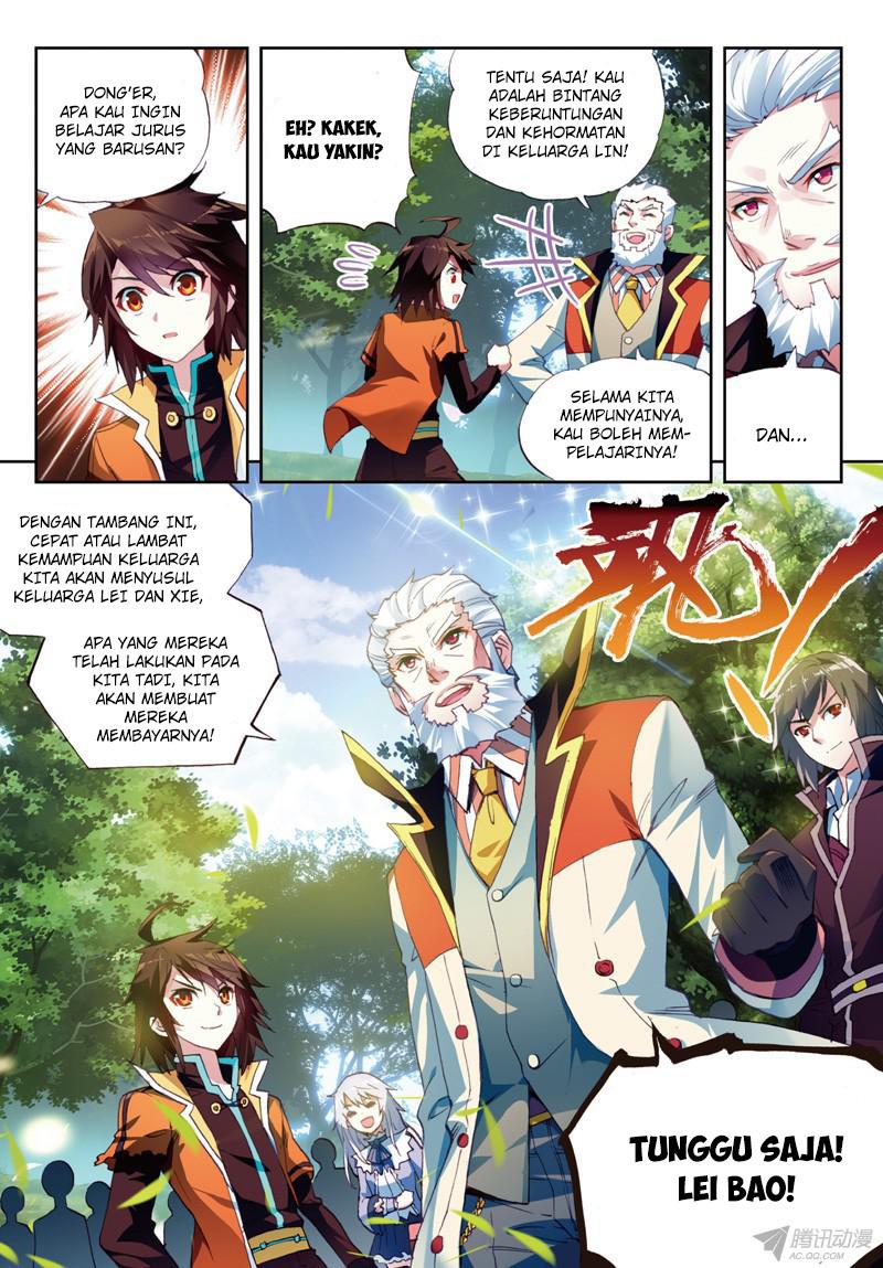 Baca Manga Wu Dong Qian Kun Chapter 23 Komik Station