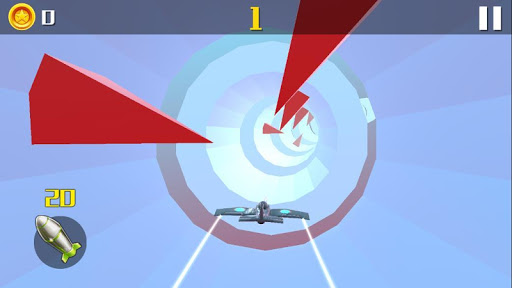 Plane Tunnel 3D screenshot 1