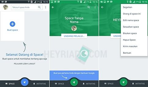 Google meluncurkan sebuah layanan gres yang berjulukan Spaces pada tanggal  Cara Membuat Grup Chat di Aplikasi Spaces Google