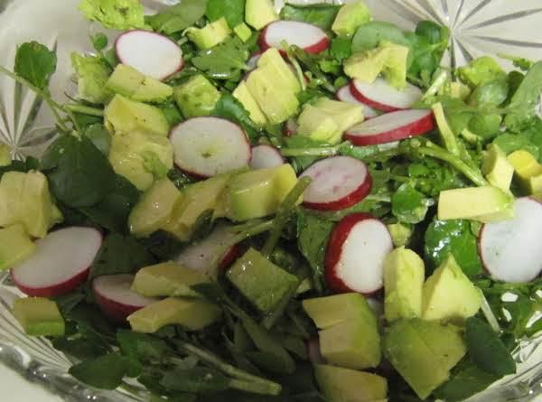 Kitty's Watercress Salad Recipe