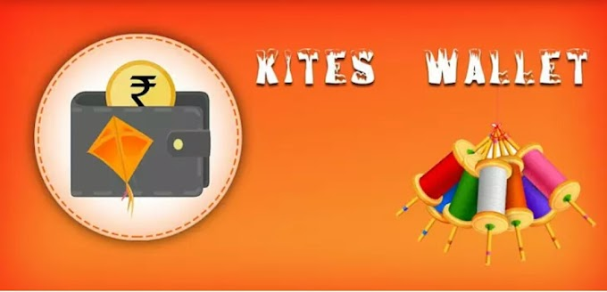 (₹1300 Proof) Kites Wallet App - Signup & Get Rs.5 Paytm Cash Per Refer (Bank Transfer Available)