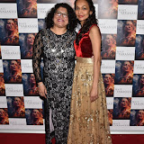 OIC - ENTSIMAGES.COM - Mayoress of Kingston and  Katan Patel  at the  : Feast of Varanasi  UK film premiere during the London Asian Film Festival 5th March 2016 Photo Mobis Photos/OIC 0203 174 1069