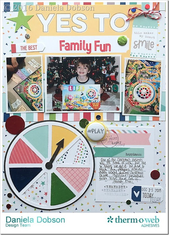Family fun by Daniela Dobson