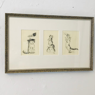 Hilary Knight Signed Drawing Trio