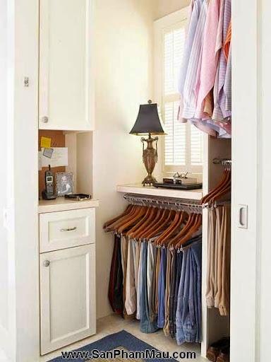 Cách trang trí tủ quần áo để được chồng khen-9