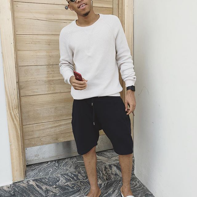 Smoking His Way Up! Tekno And His Stick of Weed Are Best of Friends (See Photos)