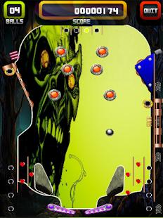 Pinball Monster Zombie App - náhled