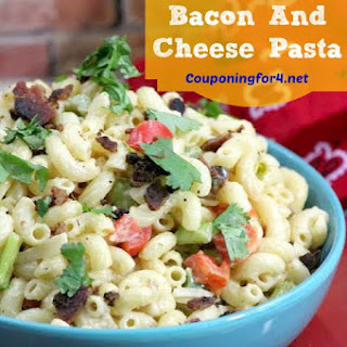 Southwestern Bacon And Cheese Pasta