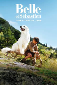 Capa Belle e Sebastian: A Aventura Continua (2015) Dublado Torrent
