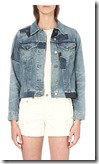 All Saints Patch Denim Jacket