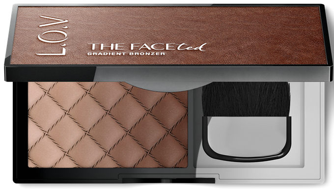 L_O_V THE FACEted gradient bronzer 100_open
