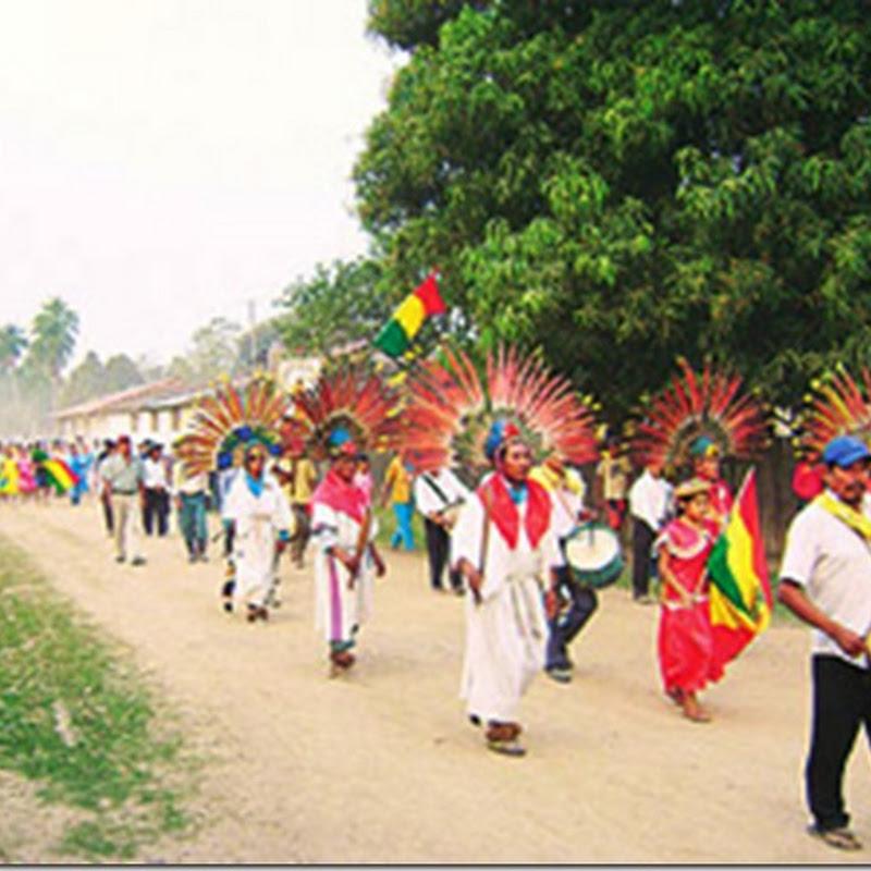 San Lorenzo de Moxos: población beniana (Bolivia)