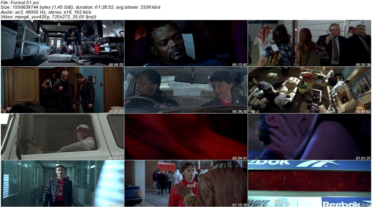 Formül 51 2001 - DVDRip XviD - Türkçe Dublaj Tek Link indir