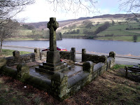 by Ladybower Reservoir