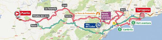 La Vuelta 2013. Etapa 12. Maella - Tarragona. @ Unipublic