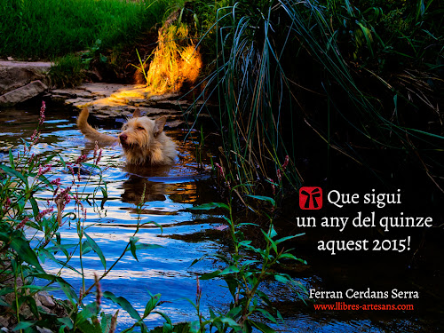 Postal Alai 2015 : Ferran Cerdans - Llibres Artesans