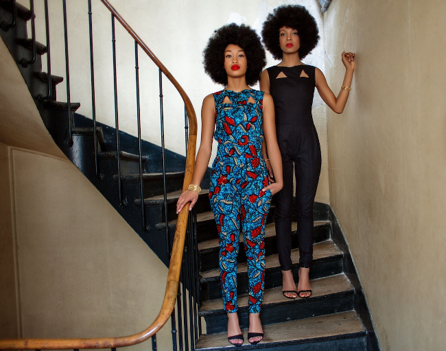 look stylish in african prints 2017