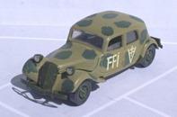 4034 Citroen 15 CV camouflée 1939
