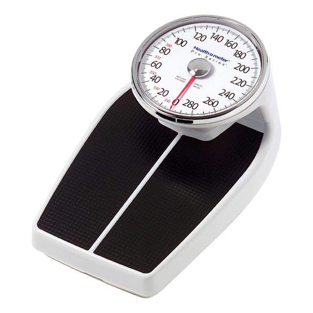 health o meter mechanical bathroom scale