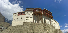 The historical Baltit fort in Hunza valley