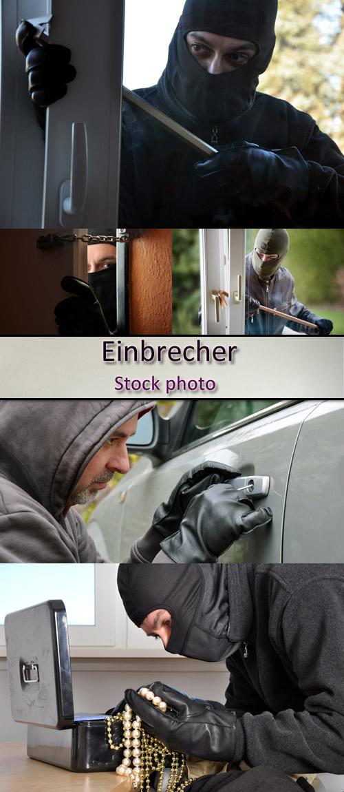 Stock Photo: Einbrecher