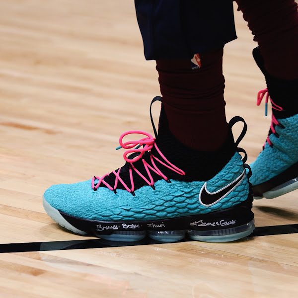 LBJ Debuts South Beach LeBron Watch 15 But Without a Release