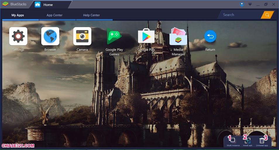phần mềm giả lập android trên máy tính
