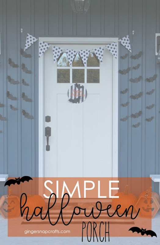 Simple Halloween Porch with Cricut #cricutmade #cricutmaker
