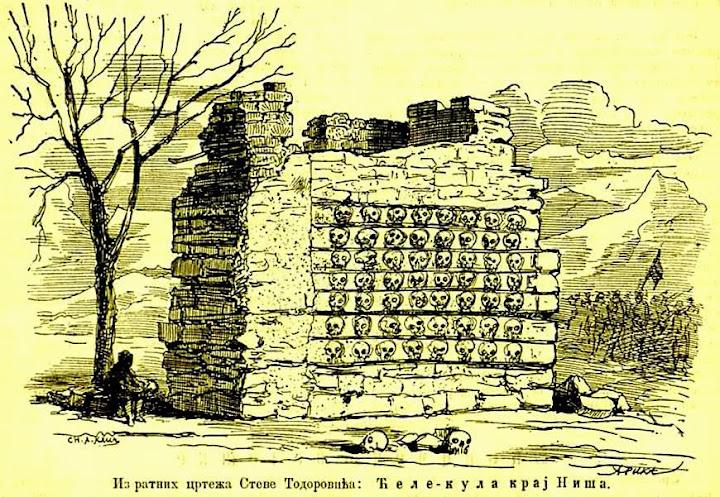 Serbia viaje a la torre de los cráneos
