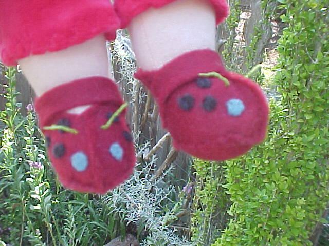 Custom Felt Flower Shoes or Boots (for the boys)