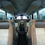 interieur van de semi vip bus van besseling